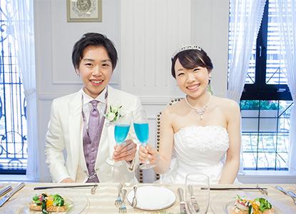 ゲストと笑顔あふれる素敵な結婚式!