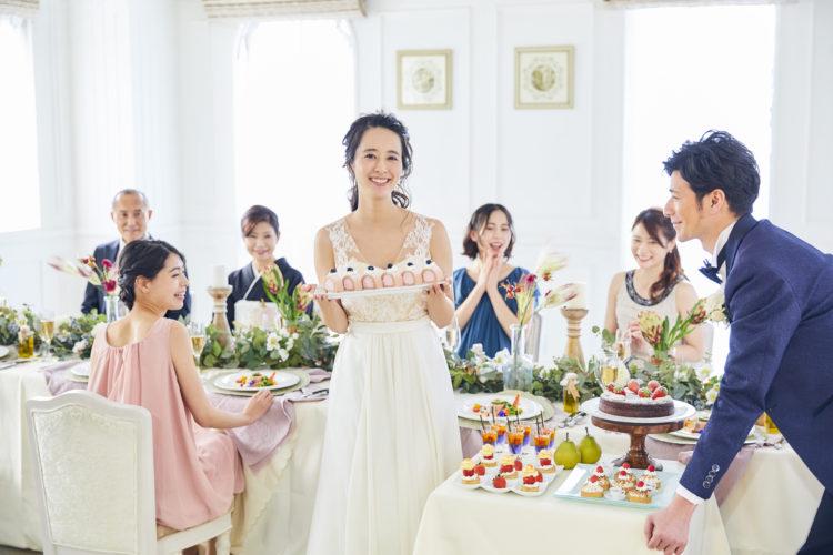 【平日結婚式の最大72万円特典】少人数W体験&1,6万円コース美食*選べるドレス試着